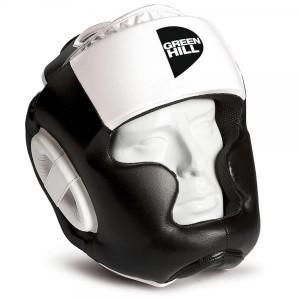 Боксерский шлем gh poise, Черный-белый Green Hill